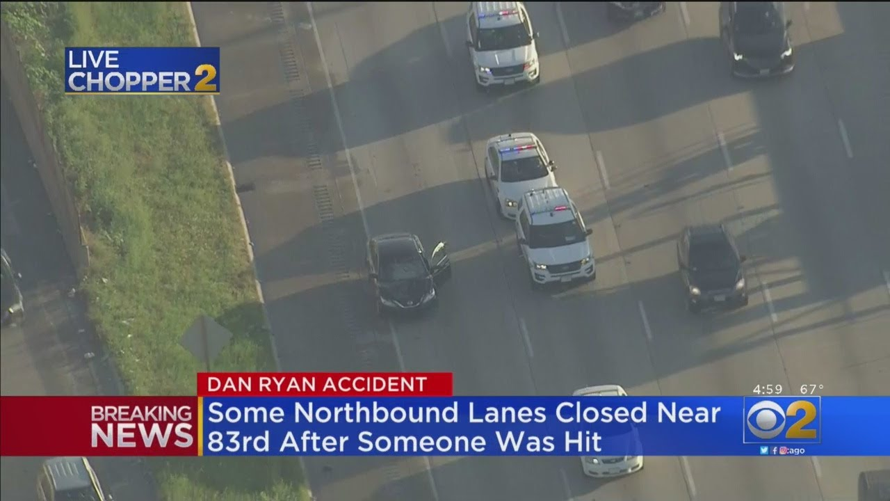 Dan Ryan Partially Shut Down After Man Is Hit By car