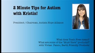 2 Min Tip for Autism: What does Toxin Free mean in cleaning products?