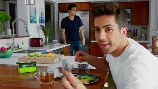 2018 Peter England's Green Tea Wash ad- film feat. Zach King