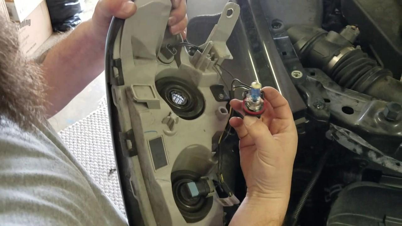 Malibu 2008 chevy malibu headlight bulb replacement : Headlight bulb change on 2012 Chevy Malibu - YouTube