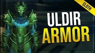 Uldir Raid Armor - Cloth | In-game Preview | LFR, Normal Heroic & Mythic Sets!