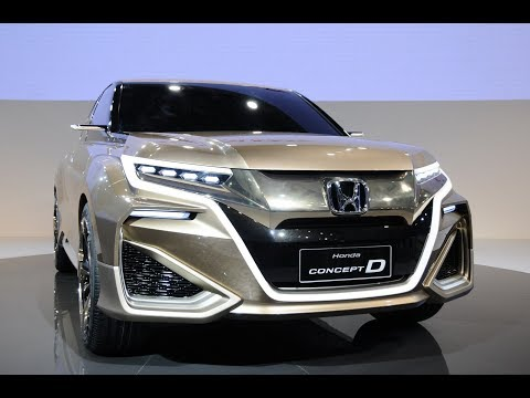 New Honda SUVs At Beijing Auto Show 2017/2018 | Car News