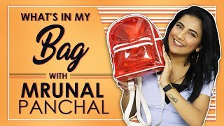 [8.11 MB] What's In My Bag With Mrunal Panchal Aka Mrunu | Bag Secrets Revealed
