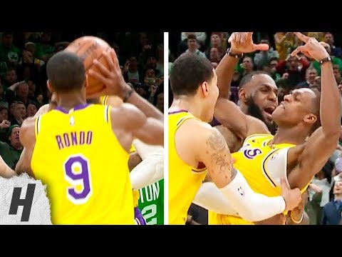 Rajon Rondo GAME-WINNER | Lakers vs Celtics - February 7, 2019