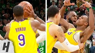 Rajon Rondo GAME-WINNER | Lakers vs Celtics - February 7, 2019