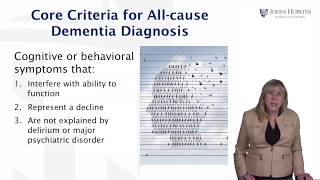 Challenges of Dementia Diagnosis - Living with Dementia by JHU #4