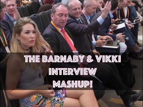 Barnaby Joyce Vikki Campion Channel 7 interview best bits mashup