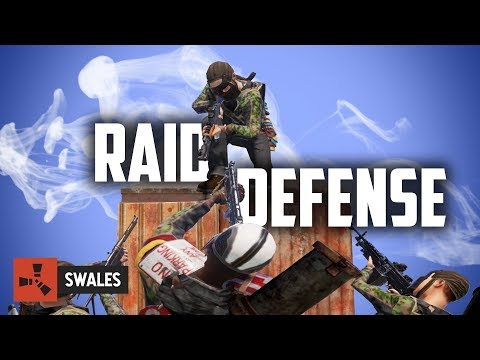 SERVER HOPPING FOR A RAID DEFENSE - RUST thumbnail