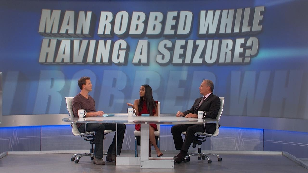 Man Robbed While Having A Seizure   YouTube