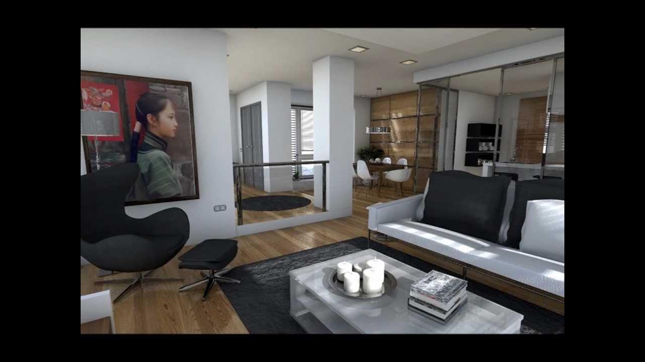 Dise o interior una casa con vistas al mar youtube for Diseno de interiores modernos casas