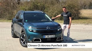 Citroën C5 Aircross PureTech 180 Shine Test / Review 2019