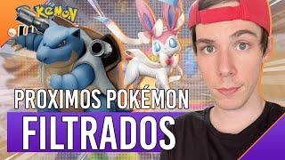 TODOS los POKÉMON FILTRADOS de Pokémon UNITE