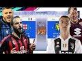 Team MILANO (Inter+Milan) vs Team TORINO! (Juve+Torino)! Partite epiche!