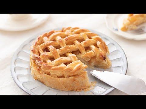 カスタード・アップルパイの作り方 - Custard Cream Apple Pie|HidaMari Cooking