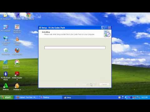instal K Lite Codec Pack