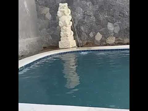 air mancur kolam renang patung katak - youtube