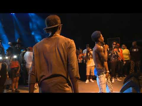 Young Thug Performs  With Rich Homie Quan Live At Streetzfest