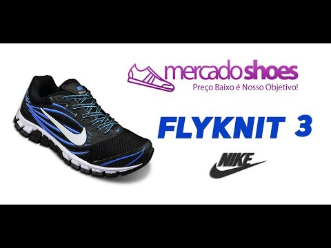 competitive price d66a4 bcce9 Tênis Masculino Nike Flyknit 3 - Atacado e Varejo - MercadoShoes