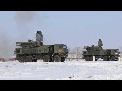 Боевая учеба ракетчиков и зенитчиков в ЦВО