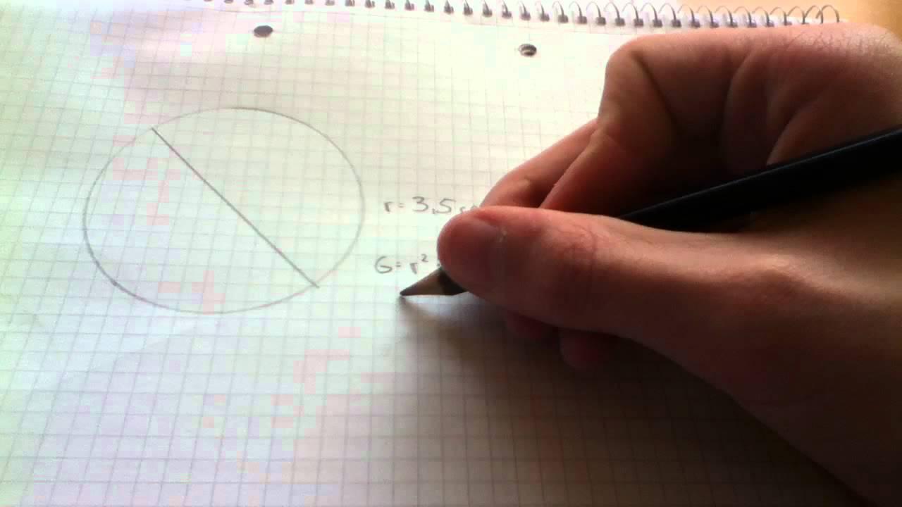 Flächeninhalt Eines Kreises Berechnen   YouTube