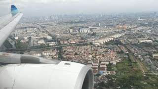 Gambar cover Garuda Indonesia Airbus A330-300 Approach & Landing at Jakarta Soekarno Hatta Airport