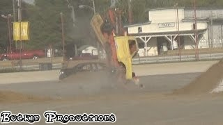"""Dale Dennul"" WILD STALLION NASTY END OVER END CRASH INDY 4WHEEL JAMBOREE 2014"