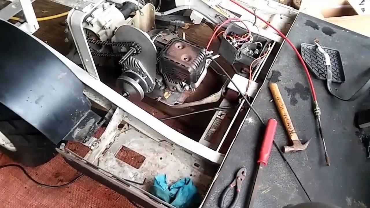 212 Predator Golf Cart Build Part  2