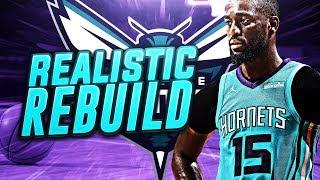 TRADING KEMBA WALKER! REALISTIC HORNETS REBUILD! NBA 2K18