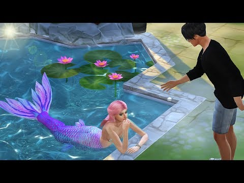 Mermaid Secret - Part 1 - A Mermaid Story   Sims 4 Machinima