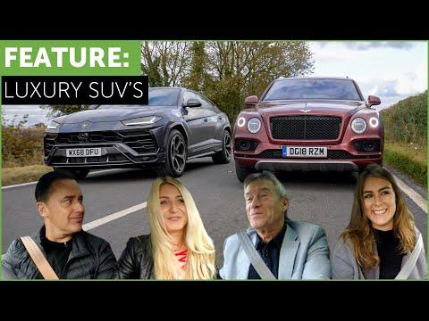 Lamborghini Urus vs Bentley Bentayga Super SUV Shootout w/ Tiff Needell and Tatbels