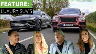 Lamborghini Urus vs Bentley Bentayga Super SUV Shootout w/ Tiff Needell and Tatbels