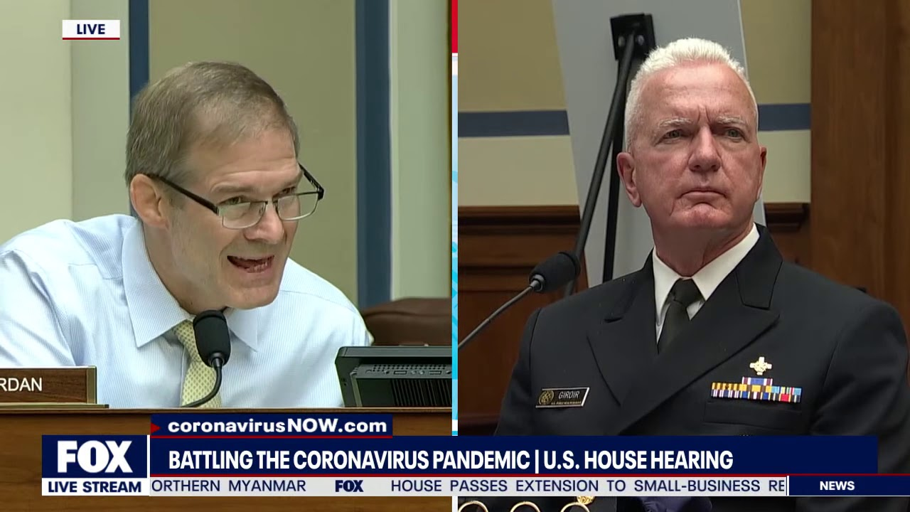 """PROTEST IS GOOD, CHURCH IS BAD"" Jim Jordan GOES OFF At Pandemic Hearing"