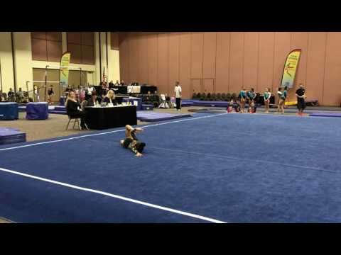 Keira's level 6 floor routine. Palm Springs classics.