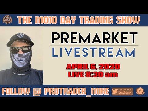#PREMARKET #LIVESTREAM 🎙️ THE MOJO #DAYTRADING SHOW Ep.105