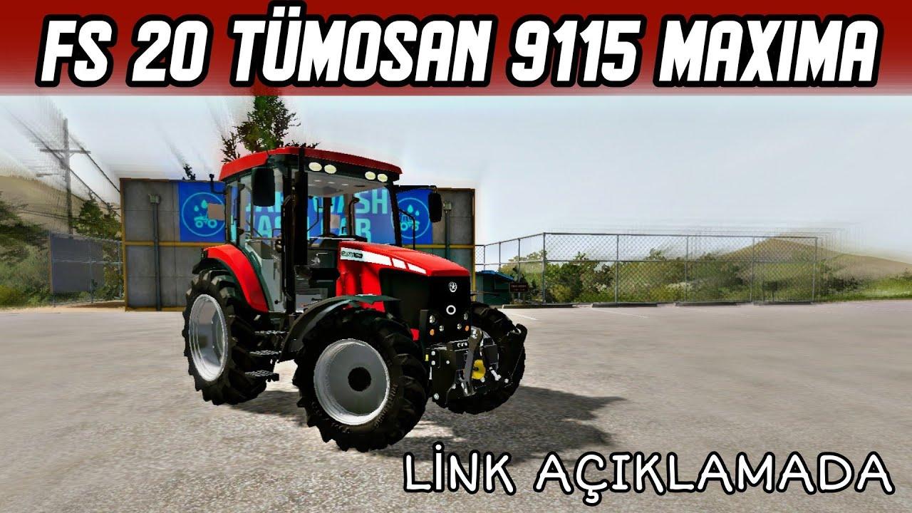TÜMOSAN 8105 MODİFİYELİ/TÜMOSAN 8095 MODU LİNKİ  /  FARMİNG SİMULATOR