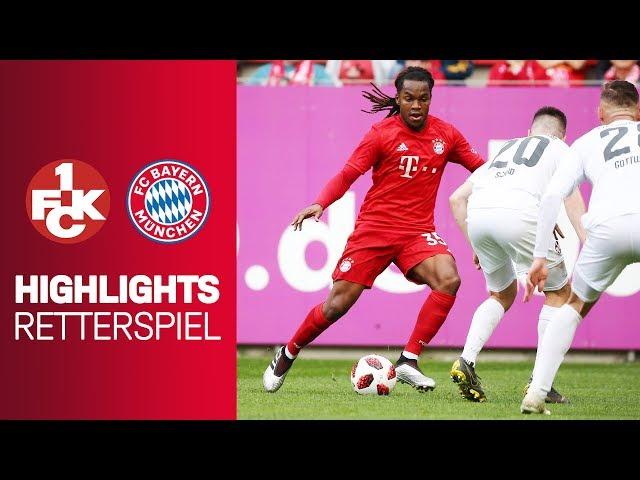 1. FC Kaiserslautern vs. FC Bayern München 1-1 | Highlights - Friendly Match