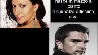 Laura Pausini & Juanes - Il mio canto libero + Testo (lyrics)