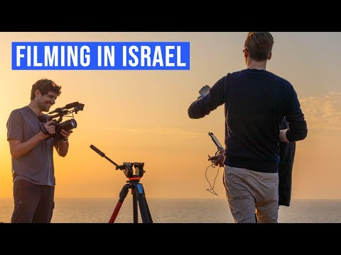 Behind the Scenes | Drone Short Film | Above Israel