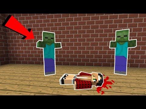 AYŞE'yi ZOMBİLER ISIRDI! 😱 - Minecraft thumbnail