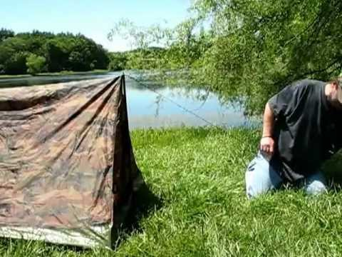 Texsport Camouflage Trail Tent & Texsport Camouflage Trail Tent - YouTube