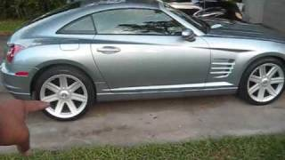 My Chrysler Crossfire (inspired by motown philly)