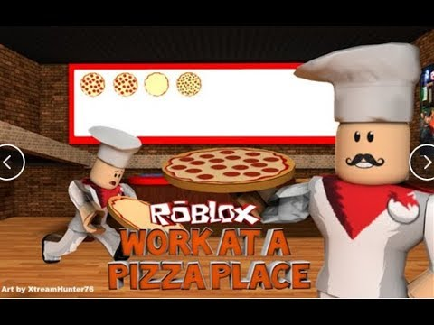 Secret Rooms In Work At A Pizza Place | Roblox