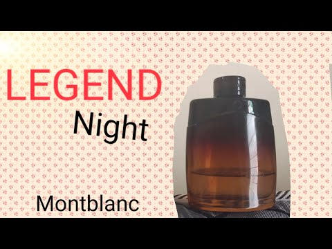 Review Montblanc Legend Night ( Bahasa Indonesia)