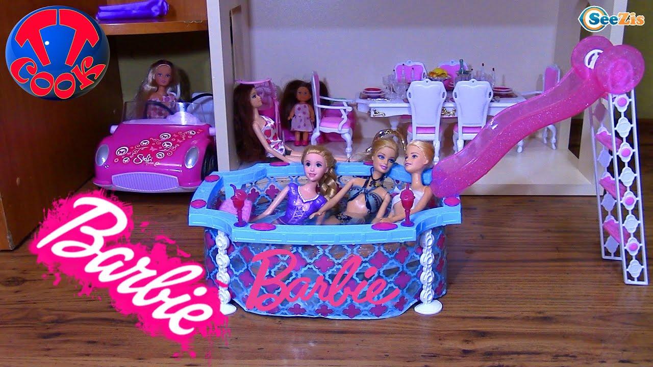 Куклы Barbie из серии Безграничные движения. - YouTube
