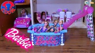 Кукла Барби. Обзор игрушек от Ярославы. Мебель для Кукол. Бассейн для Барби. Видео для детей