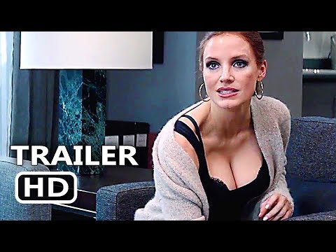 MOLLY'S GAME    2 2017 Jessica Chastain, Idris Elba, Kevin Costner Movie HD