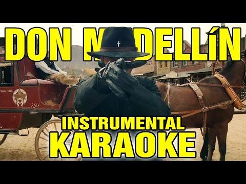 Salmo ft. Rose Villain: DON MEDELLÍN (Karaoke - Instrumental)