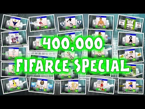 NEW!!! FIFA 16 Parody Covers - VOTE!!! 400k Subscriber Special Featuring FANS And COLLABORATORS!