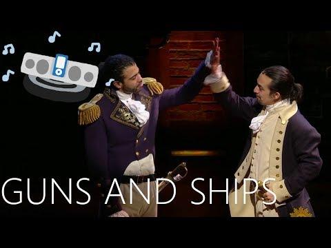 Guns and Ships - Hamilton: A Google Images Musical