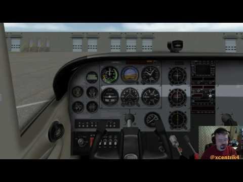 LiveStream00 - X-Plane 10 - KCID - Testing New Hardware